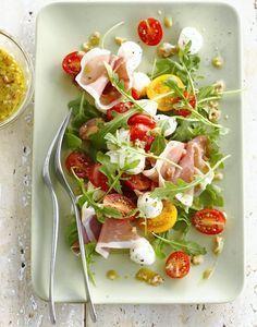 Une salade d'été aux saveurs d'Italie qui régalera toute la tablée !