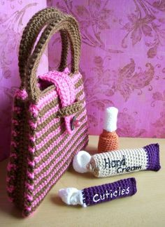 Manicure SetPDF crochet pattern by KTBdesigns on Etsy, $5.00