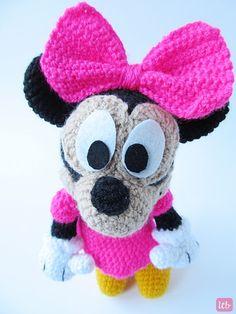 Amigurumi Pattern Minnie Mouse : Amigurumi crochet Minnie mouse disney Pinterest ...