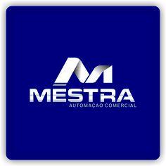 Arte campeã do projeto Mestra automação Comercial #logovia #logodesign #logomarca