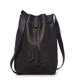 fait la force { Cenise Leather Bucket Bag }