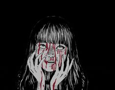 Tomie by Junji Ito Junji Ito, Arte Horror, Horror Art, Aesthetic Grunge, Aesthetic Anime, Aesthetic Images, Dibujos Dark, Manga Anime, Anime Art