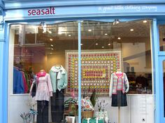 Wild Cornish Flowers Falmouth shop display by Seasalt Clothing, via Flickr