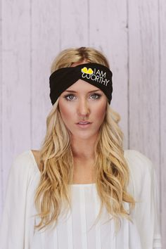 Women's headband or bandana great for when by WORTHYCOLLECTIONS