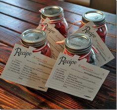 Easy Sew Apron packaged in a Mason Jar!