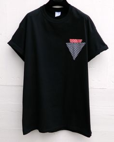 Mens Nicce Speckle Badge T-Shirt RRP £29.99