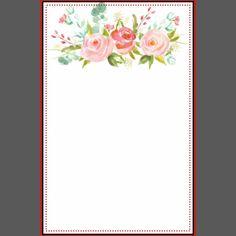 Rose Garden   Personalized Stationery   Zazzle