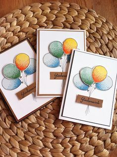 schiller's platzli: Geburtstagskarte für's Männlein und Weiblein, ballonparty, stempeln, stamping, sale-a-bration 2016, sale a bration, stampin'up!, stampin up, Geburtstag, Geburtstagskarte, Karte, Ballon,