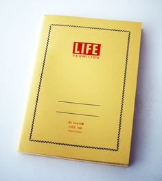 The LIFE notebook, unchanged since 1951