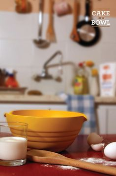Cake in a Bowl- neat idea