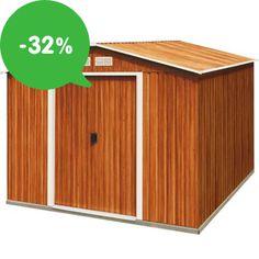 Najlacnejšie záhradné domčeky na náradie so zľavou až 32%