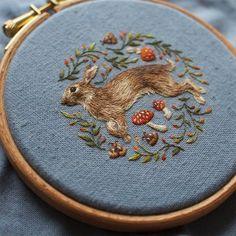 Essa artista faz bordados minúsculos incrivelmente detalhados   IdeaFixa