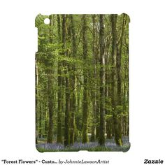 """""""Forest Flowers"""" - Customizable Case For The iPad Mini Ipad 1, Ipad Mini, Ipad Case, Forest Flowers, Wonderful Images, Outdoor Blanket, Products, Gadget"""