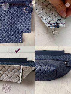aro Small Leather Bag, Leather Wallet, Fanny Pack Pattern, How To Make Leather, Leather Bag Pattern, Macrame Bag, Hip Bag, Design Blog, Bag Patterns To Sew