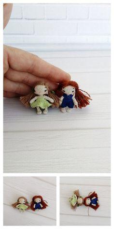 Amigurumi Doll in Fox Costume Free Pattern – Free Amigurumi Patterns Crochet Patterns Amigurumi, Amigurumi Doll, Knitted Dolls, Crochet Dolls, Fox Costume, 4 Ply Yarn, Crochet Ornaments, Mohair Yarn, Miniture Things
