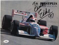 Eddie Cheever Signed 8x10 Photo JSA COA Autograph Indy . $20.00. EDDIE CHEEVERHAND SIGNED 8X10 PHOTO WITH STATS CARDADDRESSED TO CHUCKGREAT AUTHENTIC INDY COLLECTIBLE!!AUTOGRAPH AUTHENTICATED BY JAMES SPENCE AUTHENTICATIONS WITH NUMBERED JSA AUTHENTICATION STICKER ON ITEM AND MATCHING NUMBERED JSA CERTIFICATE OF AUTHENTICITY (COA) INCLUDED.JSA COA: # F33458 .ITEM PICTURED IS ACTUAL ITEM BUYER WILL RECEIVE.
