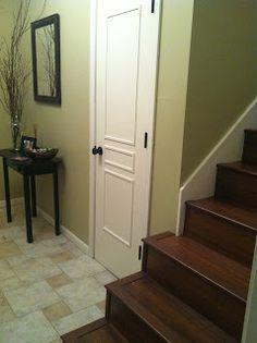 add trim to a flat door