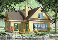 House Plan ID: chp-10358 - COOLhouseplans.com