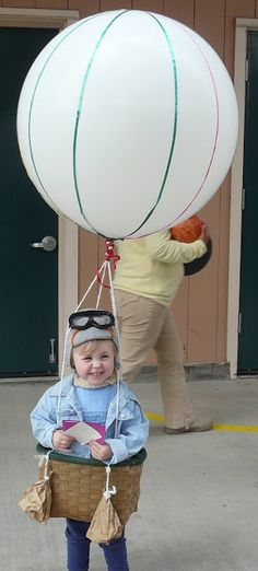Hot Air Balloon costume for Punky???  *Rook No. 17: recipes, crafts & whimsies for spreading joy*: THE CUTEST HALLOWEEN COSTUME ~ MAIDEN VOYAGE