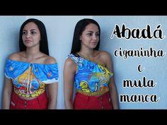 5dca3575b37a DIY ABADÁ CIGANINHA E MULA MANCA - CUSTOMIZAÇÃO DE ABADÁ - SUELLEN REDESIGN  - YouTube