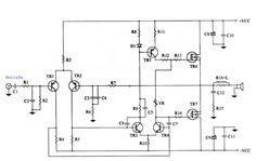 Há quem goste de muita potência sonora e outras de baixa potência e muita qualidade, esse amplificador com MOSFET na saída reúne o melhor da qualidade. Audio, Circuit Diagram, Math, Circuits, Audio Amplifier, Electronic Circuit, Log Projects, Tecnologia, Math Resources