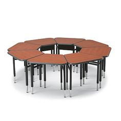 Planner Huddle-8LS Student Desk