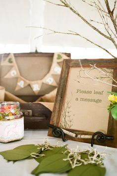 """leaf a message"" idea for wishing tree Photography by featherandstone.com.au/, Event Coordination, Marquee Rentals by byronbayweddingsandevents.com/"