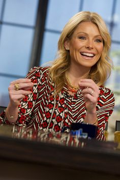 """Kelly Ripa  Kelly Ripa  The Co-Host of Live! With Michael and Kelly told Shape magazine that she used to be a """"closet smoker,"""" Everyday Health reports. And while she quit after having children, she picked the habit back up again. What helped her finally quit for good? Exercise, she said in the interview."""
