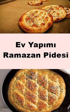 Ramazan Pidesi Tarifi Iftar, Bread Baking, Bread Recipes, Banana Bread, Healthy Living, Recipies, Food And Drink, Menu, Nutrition