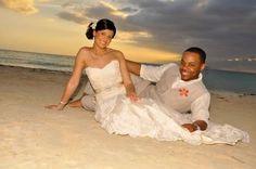 Destination Wedding Beach Negril Carrera Watson