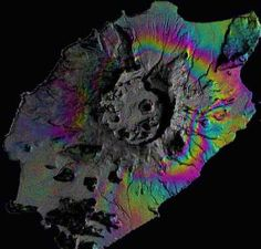 Volcanologists are beginning to use satellite measurements and mathematical methods to forecast eruptions and to better understand how volcanoes work, shows
