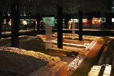 During excavation works for the underground garage of a shopping arcade at the centre of Mainz in 2000-2001, the foundations of a Roman temple were discovered. The place where they were found has been turned into an underground display of the Isis and Mater Magna shrine.
