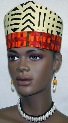 b44103d1701 African Hats- Open Crown or Hats for Women