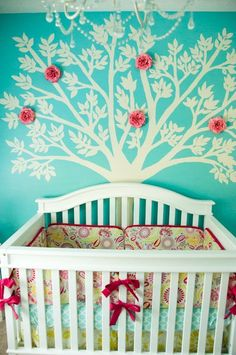 The most AMAZING nursery design! AND she did it on a budget!