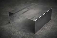 The steel that makes up the Raw Steel Square Coffee Table is untreated natural black steel. It looks exactly as it does when it comes out of the mill. Note: All