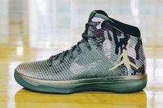 Check Out the Full Jordan Brand Veteran's Day PE Pack Jordan Basketball Shoes, Jordan Shoes, Jordan 31, Michael Jordan, Ankle Sneakers, Best Sneakers, Jamel, Boys Shoes, Cute Shoes