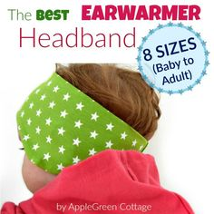 50% off for the newest Earwarmer Headband PDF Pattern - Add a pop of color to your kids' fall wardrobe AND let them stay WARM outdoors this fall!
