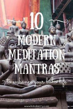 10 Modern Meditation Mantras to Enhance Your Boho Life