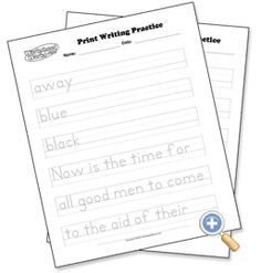 A-Z Cursive Handwriting Worksheets from Confessions of a