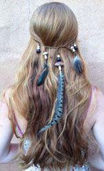Exemplo de acessório de cabelo
