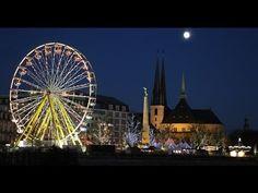 Luxemburg Stadt: Weihnachtsmarkt