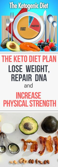 The Keto Diet Plan – Lose Weight, Repair DNA and Increase Physical Strength!!!