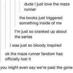 maze runner puns