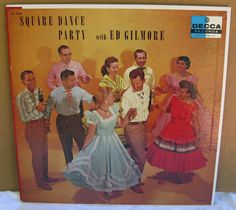 LP record Square Dance Party with Ed Gilmore by mudintheUSA, $11.50