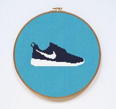 Resultado de imagen de shoes cross stitch