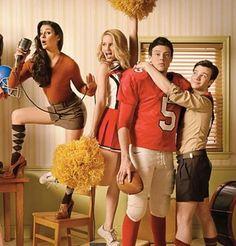 Rachel Berry, Quinn Fabray, Finn Hudson & Kurt Hummel