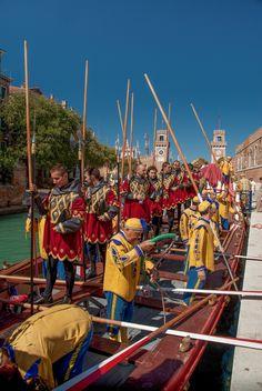 Regata storica di Venezia by Guillaume Leray Veneto