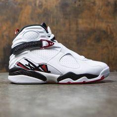 e937f4cb7ee210 Jordan Men Air Jordan 8 Retro (white   gym red-black-wolf grey