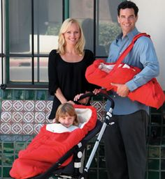 Cool baby cradle carrier, similar to our excellent Cybex first.GO carrier but available in the US.