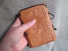 Hand-tooled leather